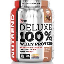 Nutrend DELUXE 100% WHEY 900G ČOKOLÁDA + LÍSKOVÝ OŘECH - Protein