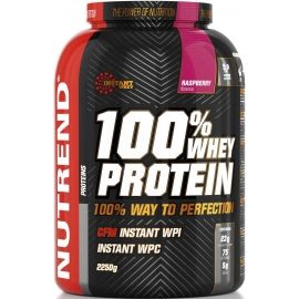 Nutrend 100% WHEY PROTEIN 2250G MALINA - Protein