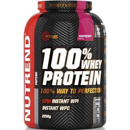 Protein - Nutrend 100% WHEY PROTEIN 2250G MALINA