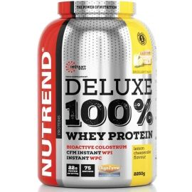 Nutrend DELUXE 100% WHEY 2250G CITRONOVÝ CHEESECAKE - Protein