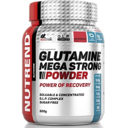 Nutrend GLUTAMINE MEGA STRONG POWDER 500G MELOUN - Aminokyseliny