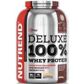 Nutrend DELUXE 100% WHEY 2250G ČOKOLÁDOVÉ BROWNIES - Protein