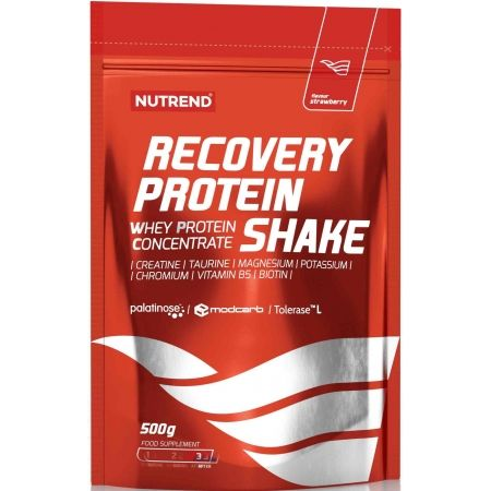 Nutrend RECOVERY PROTEIN SHAKE JAHODA
