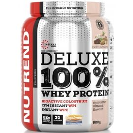 Nutrend DELUXE 100% WHEY 900G ČOKOLÁDA + MANDLE - Protein
