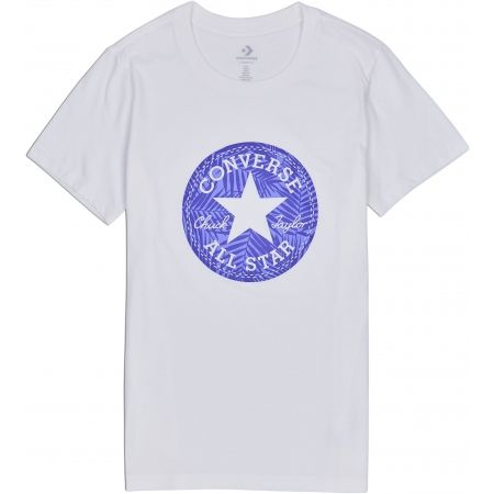 Converse SEASONAL CHUCK PATCH PALM FILL TEE - Dámské triko