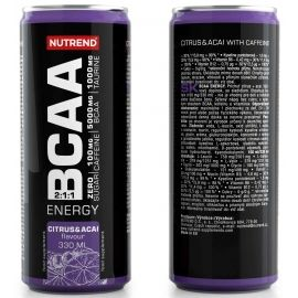 Nutrend BCAA ENERGY 330ML CITRUS + ACAI