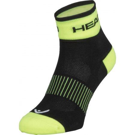 Cyklistické ponožky - Head SOCKS YELLOW - 1