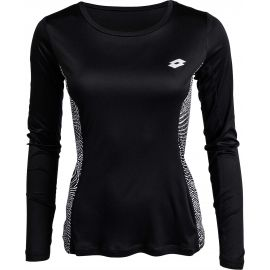 Lotto X-RUN TEE PRT LS PL W - Dámské sportovní triko