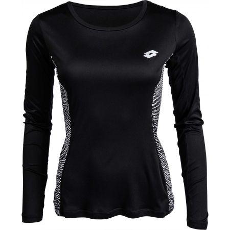 Dámské sportovní triko - Lotto X-RUN TEE PRT LS PL W - 1