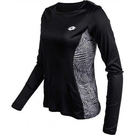 Dámské sportovní triko - Lotto X-RUN TEE PRT LS PL W - 2
