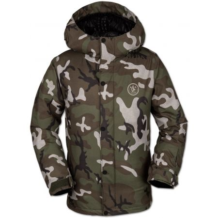 Volcom RIPLEY INS JACKET - Chlapecká lyžařská/snowboardová bunda