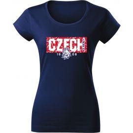 Střída NAPIS CZECH V PATTERNU - Dámské triko