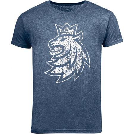 Střída LOGO LEV PATINA CIHT - Dětské triko
