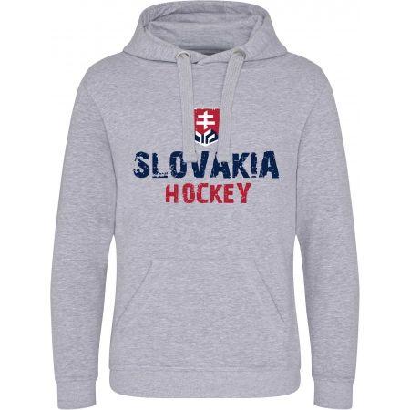 Střída KLOKANKA NAPIS SLOVAKIA HOCKEY - Pánská mikina