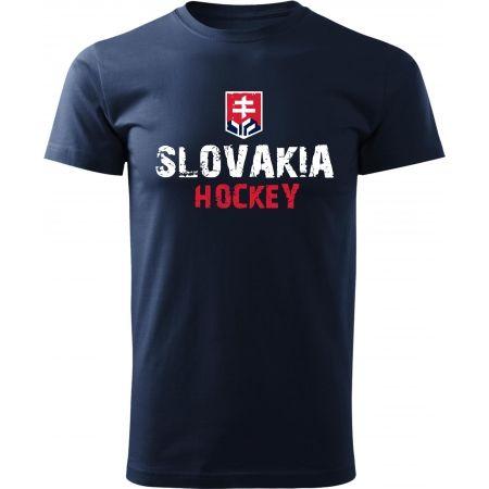 Střída NAPIS SLOVAKIA HOCKEY - Pánské triko