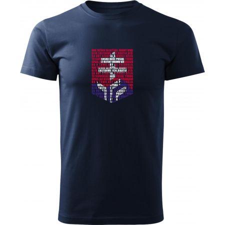 Střída LOGO Z HYMNY SVK - Pánské triko