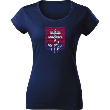 Střída LOGO Z HYMNY SVK - Dámské triko