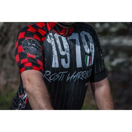 Pánský cyklistický dres - Rosti WARRIOR KR ZIP - 5