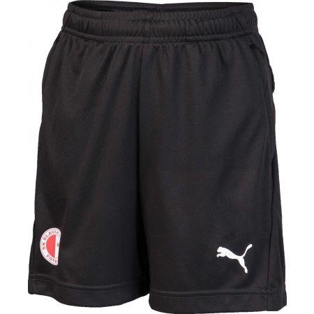Chlapecké sportovní šortky - Puma LIGA TRG SHORTS JR SLAVIA - 1