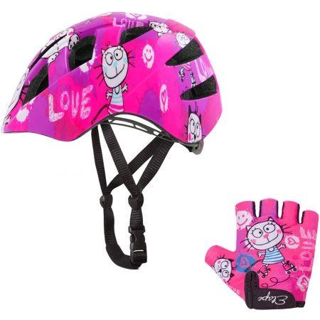 Dětská cyklistická helma - Etape KITTY - 4