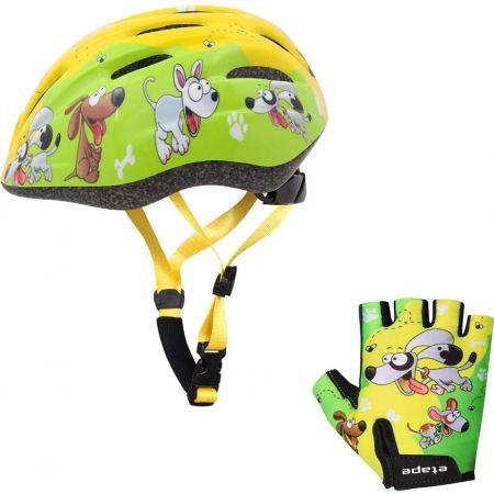 Dětské cyklistické rukavice - Etape REX RUKAVICE KIDS - 4