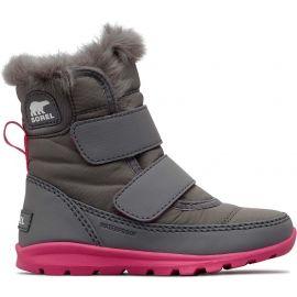 Sorel CHILDRENS WHITNEY VELCRO - Dívčí zimní boty