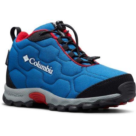 Columbia YOUTH FIRECAMP MID 2 WP - Dětské trekingové boty