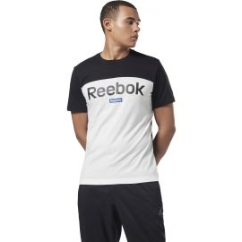 Reebok TE BL SS TEE - Pánské tričko
