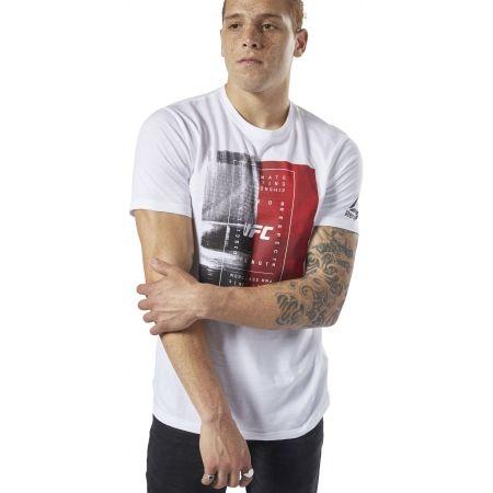 Pánské triko - Reebok UFC FG TEXT TEE - 4