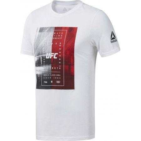 Pánské triko - Reebok UFC FG TEXT TEE - 1