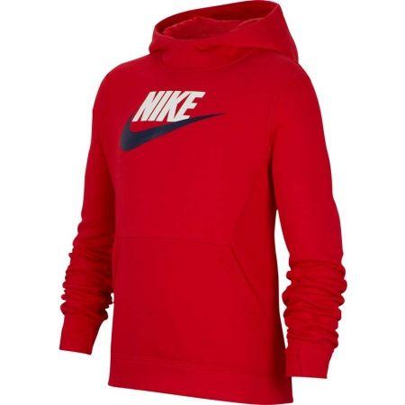 Chlapecká mikina - Nike NSW PO HOODIE CLUB FLC HBR - 1