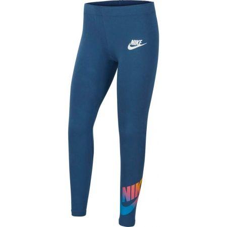 Dívčí legíny - Nike NSW FAVORITES FF LEGGING - 1