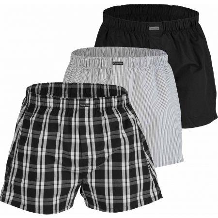 Calvin Klein BOXER WVN 3PK - Pánské boxerky