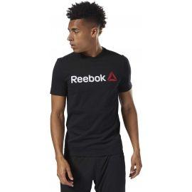 Reebok LINEAR READ - Pánské tričko