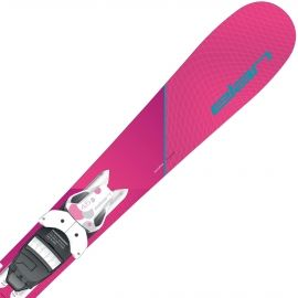 Elan LIL STYLE QS + EL 4.5 - Dívčí sjezdové lyže