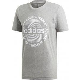 adidas CORE CIRCLED GRAPHIC TEE - Pánské tričko
