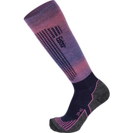Eisbär SKI W TECH LIGHT DX + SX - Dámské lyžařské ponožky