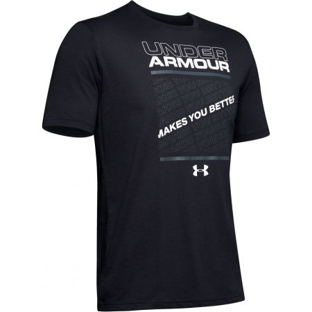 Pánské tričko - Under Armour MAKES YOU BETTER - 1
