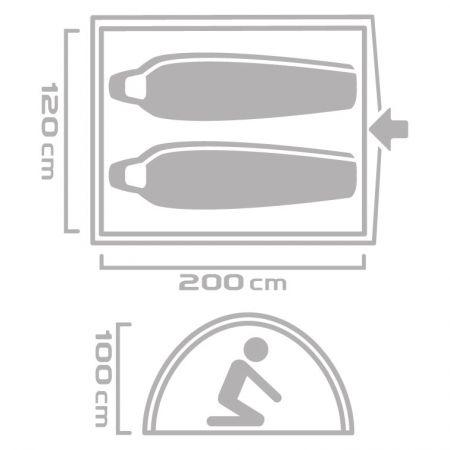Outdoorový stan - Crossroad CASA 2 - 9