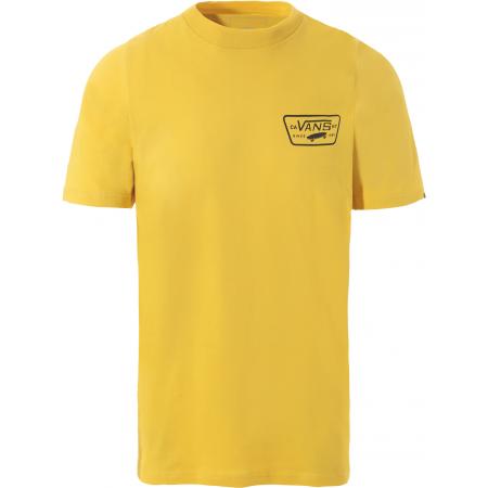 Vans MN FULL PATCH BACK SS - Pánské tričko
