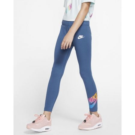Dívčí legíny - Nike NSW FAVORITES FF LEGGING - 4
