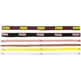Puma AT SPORTBANDS 6PCS - Sportovní čelenky