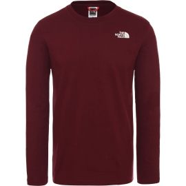 The North Face L/S EASY TEE DEEP M - Pánské tričko