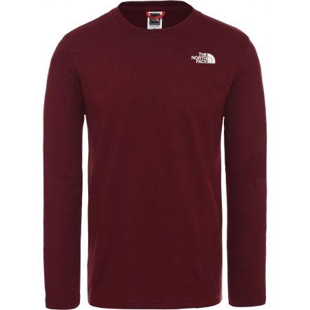 Pánské tričko - The North Face L/S EASY TEE DEEP M - 1