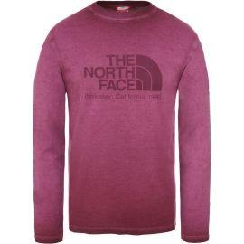 The North Face L/S WASHED BT-EU M - Pánské tričko s dlouhým rukávem