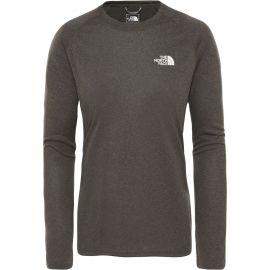 The North Face REAXI AMP L/S C - NW TAUPE W - Dámské tričko s dlouhým rukávem