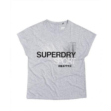 Superdry CORE SPLIT BACK TEE - Dámské tričko