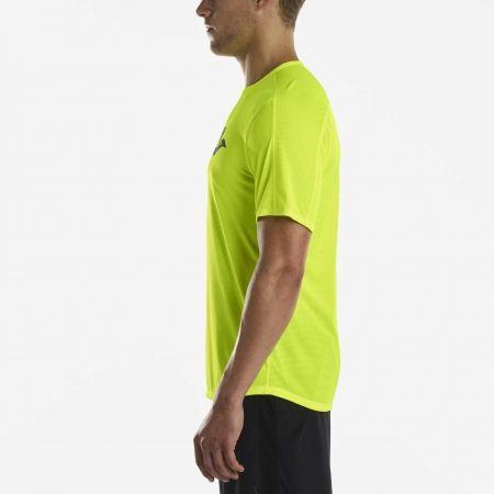 Pánské běžecké triko - Saucony SHORT SLEEVE VIZIPRO CI - 3