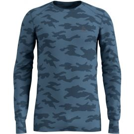 Odlo SUW MEN'S TOP L/S CREW NECK ACTIVE WARM XMAS - Pánské triko