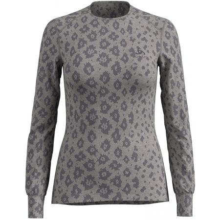 Odlo SUW WOMEN'S TOP L/S CREW NECK ACTIVE WARM X-MAS - Dámské triko